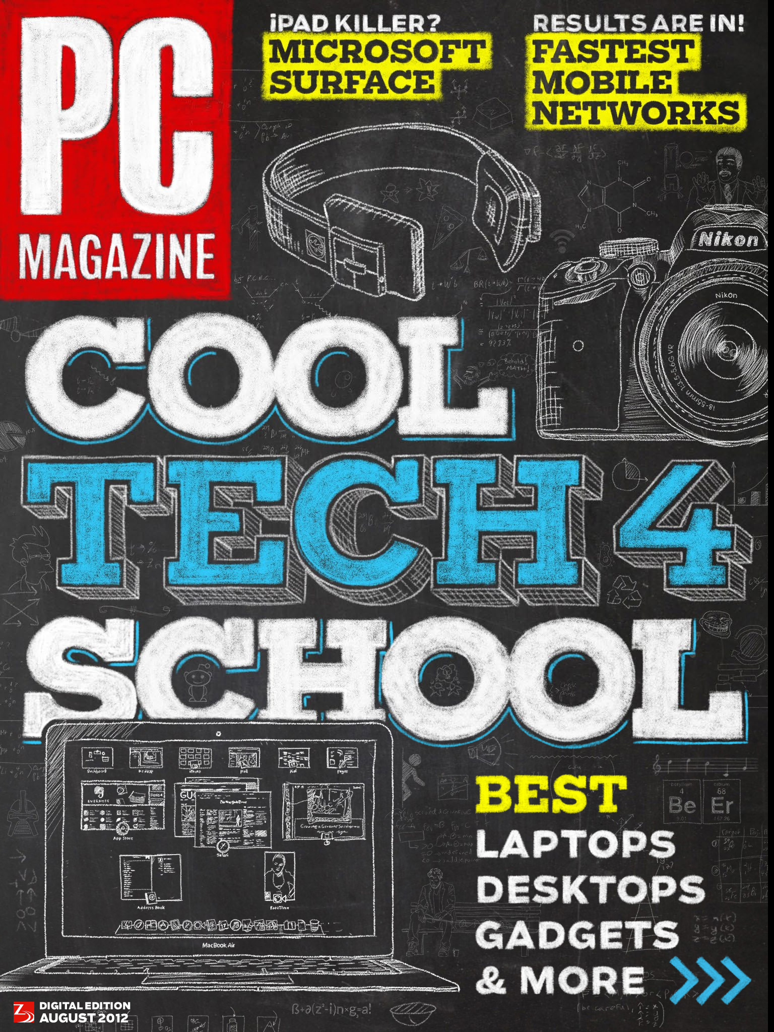 PC Magazine August Cover